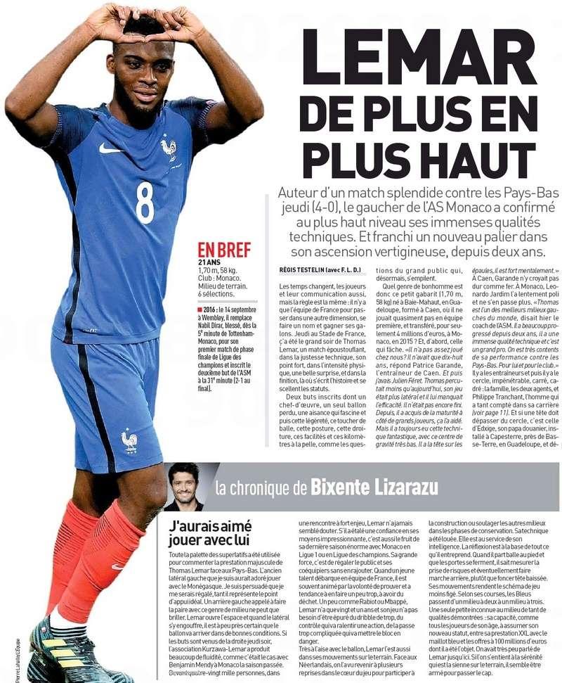 [Actu/Débat] L'Equipe de France  - Page 38 Lemar_11