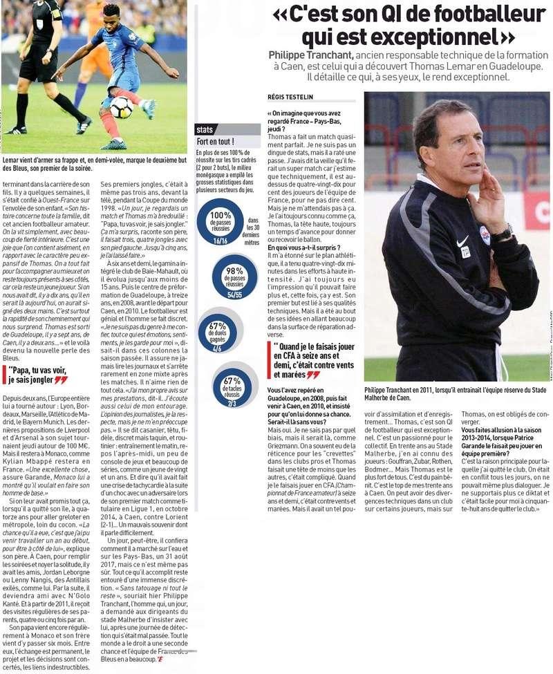 [Actu/Débat] L'Equipe de France  - Page 38 Lemar_12