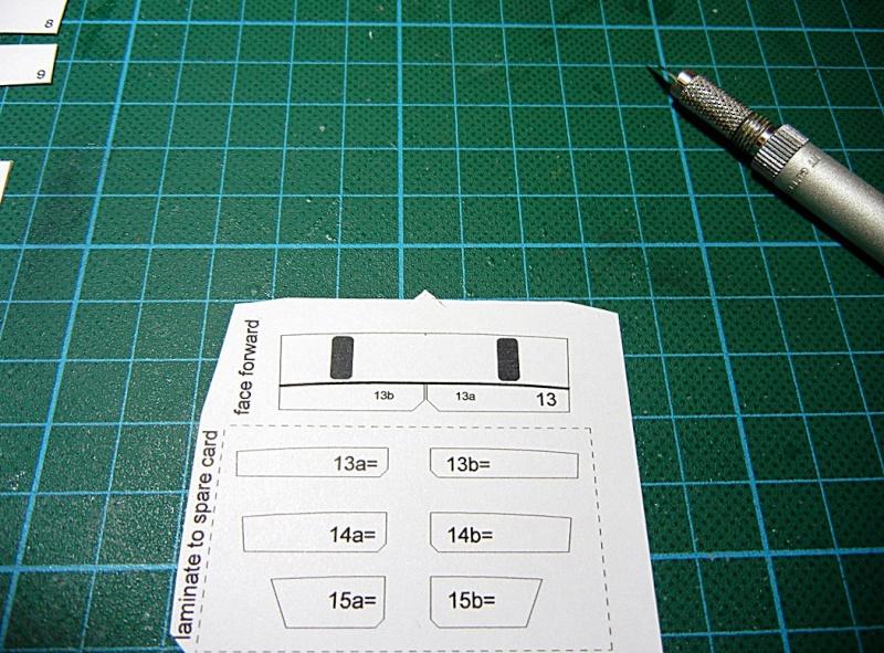 Erzfrachter Angemanelven 1:250 Kartonmodell Paper Shipwright Angerm14