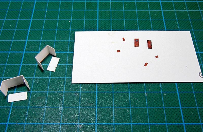 Erzfrachter Angemanelven 1:250 Kartonmodell Paper Shipwright Angerm17