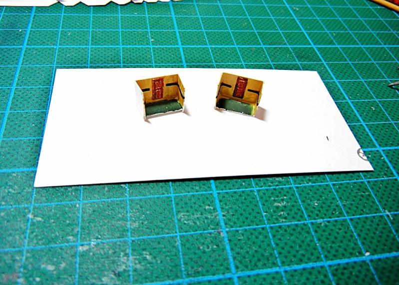 Erzfrachter Angemanelven 1:250 Kartonmodell Paper Shipwright Angerm18
