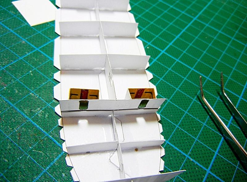 Erzfrachter Angemanelven 1:250 Kartonmodell Paper Shipwright Angerm19