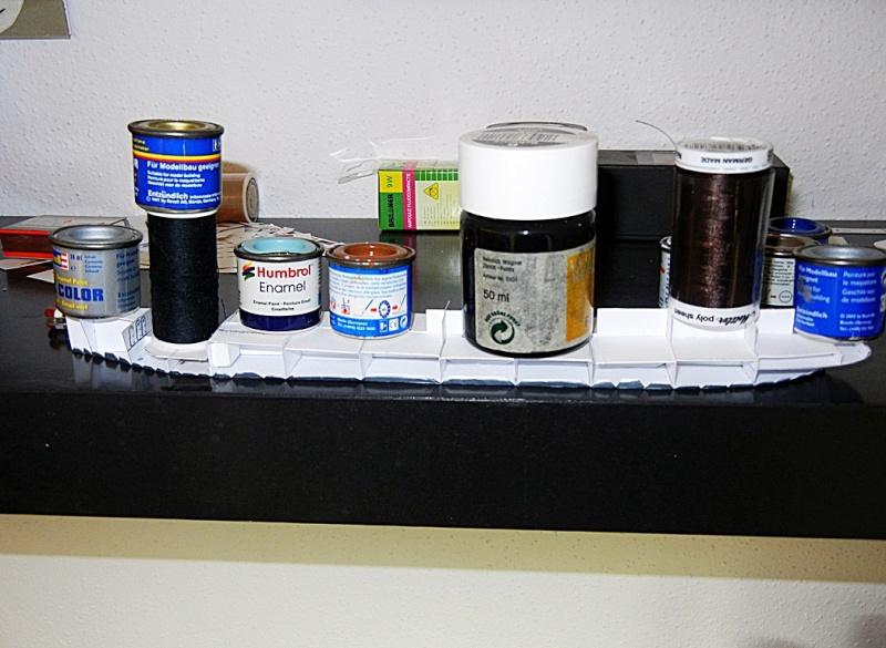 Erzfrachter Angemanelven 1:250 Kartonmodell Paper Shipwright Angerm22