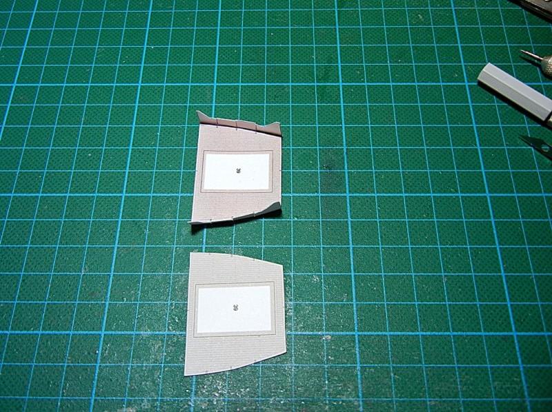 Erzfrachter Angemanelven 1:250 Kartonmodell Paper Shipwright Angerm23