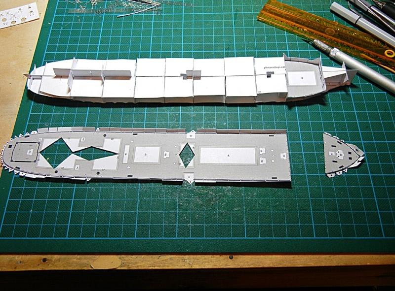 Erzfrachter Angemanelven 1:250 Kartonmodell Paper Shipwright - Seite 2 Angerm26