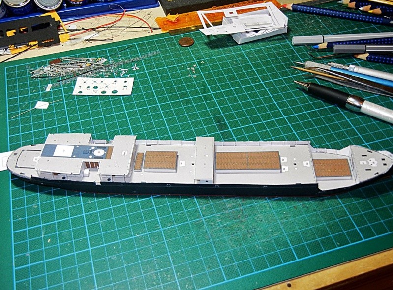 Erzfrachter Angemanelven 1:250 Kartonmodell Paper Shipwright - Seite 2 Angerm52