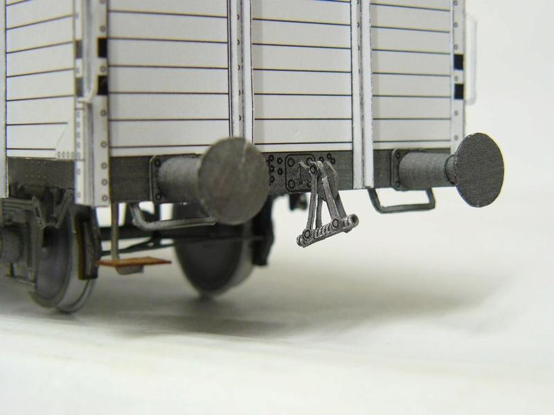 Güterwagen Verbandsbauart Palmbräu HS-Design 1:45 Kassel25