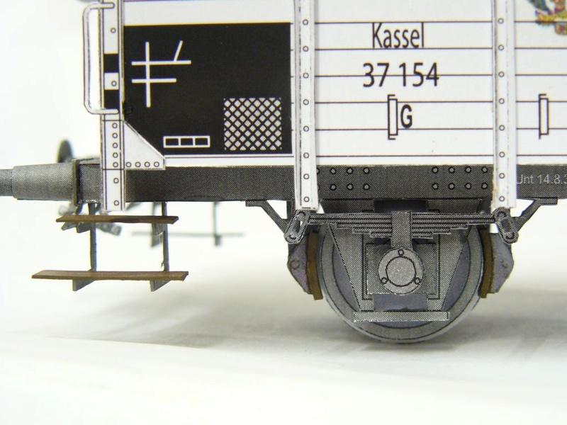 Güterwagen Verbandsbauart Palmbräu HS-Design 1:45 Kassel26
