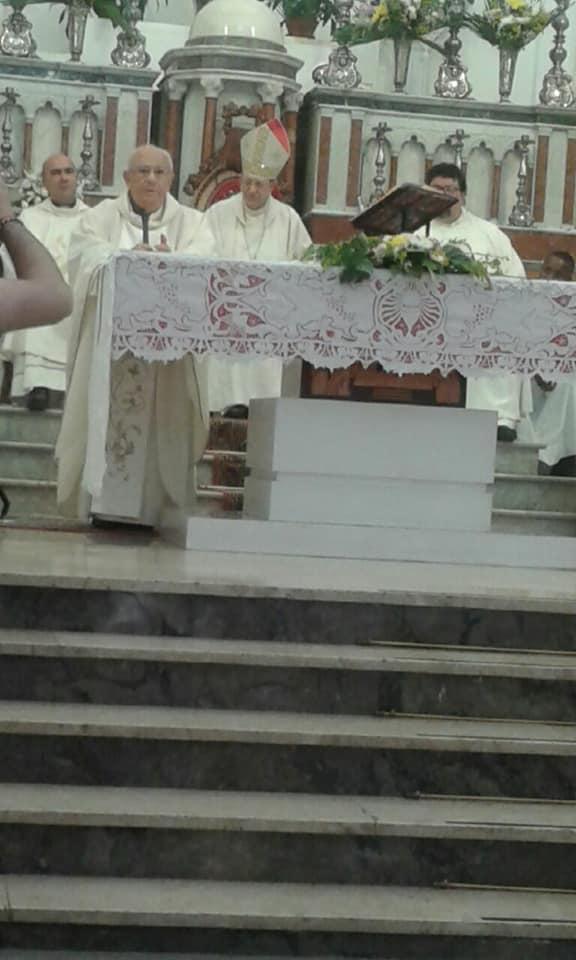 Resuttano, Festeggiati i 60 anni di sacerdozio dell'arciprete emerito Padre Arcangelo Tumminaro 19399410