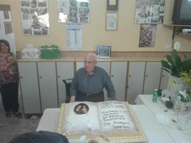 Resuttano, Festeggiati i 60 anni di sacerdozio dell'arciprete emerito Padre Arcangelo Tumminaro 19400010