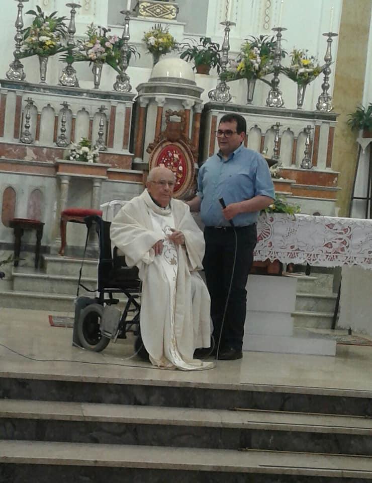 Resuttano, Festeggiati i 60 anni di sacerdozio dell'arciprete emerito Padre Arcangelo Tumminaro 19429710