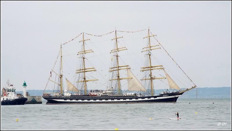 [ Marine à voile ]  Les grandes   voiles  au Havre Dscf2511