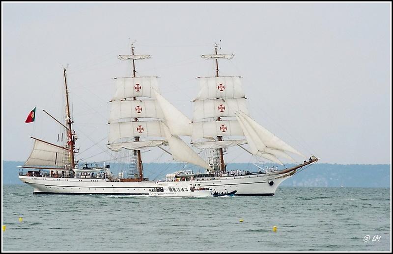 [ Marine à voile ]  Les grandes   voiles  au Havre Dscf2513