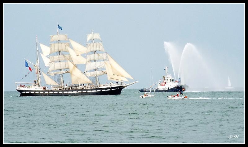 [ Marine à voile ]  Les grandes   voiles  au Havre Dscf2610