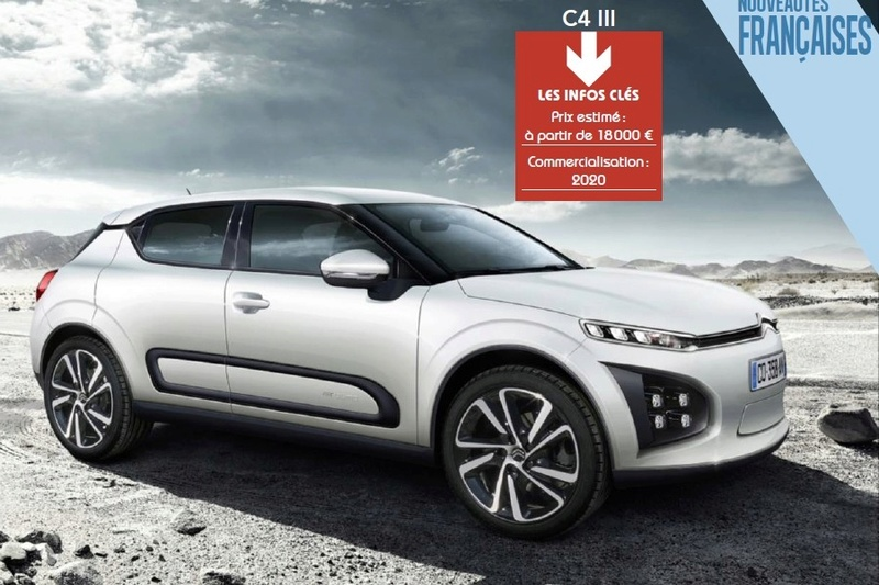 2017 - [FUTUR MODÈLE] Citroën C4 III [F3] - Page 18 C41112
