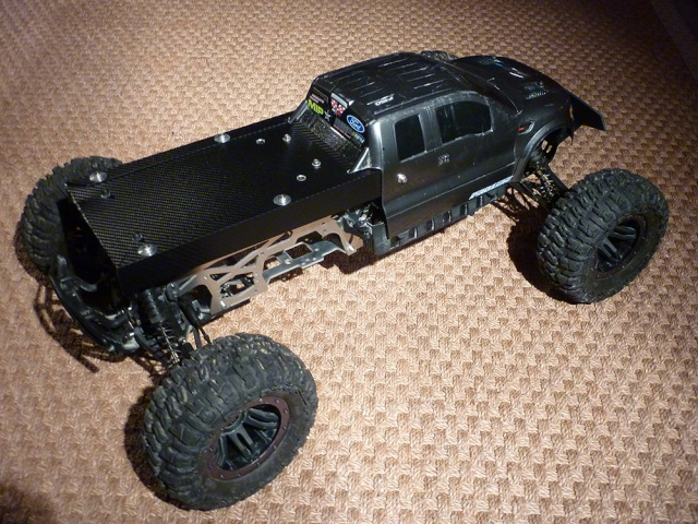 "HPI Savage 6 roues chassis ""Patoch Racing"" P1080220"