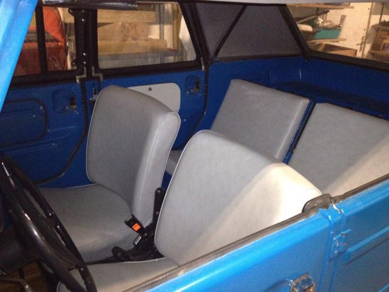 Vends VW 181 de 1975, parfait état 181-210