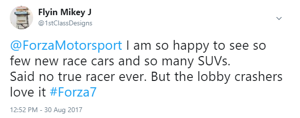 Forza Motorsport 7 Wishlist Thread - Page 2 Suvs10