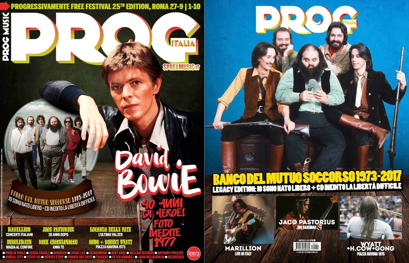 Esce in edicola: PROG ITALIA Magazine. 21753210