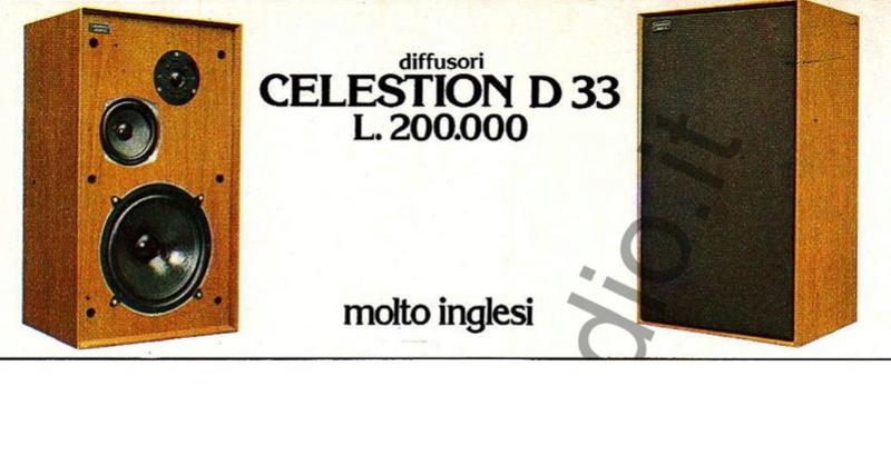 Diffusori Celestion Ditton 33 Foto110