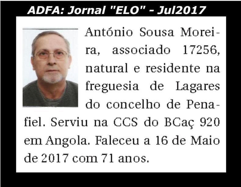 Notas de óbito publicadas no jornal «ELO», da ADFA, de Julho de 2017 Antyni11