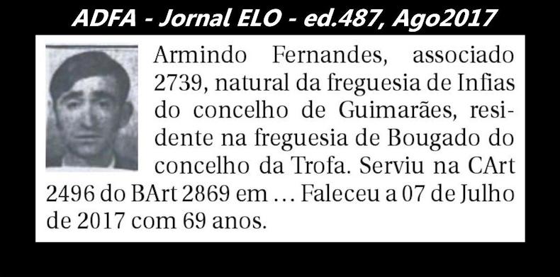 Notas de óbito publicadas no jornal «ELO», da ADFA, de Agosto de 2017 Armand11