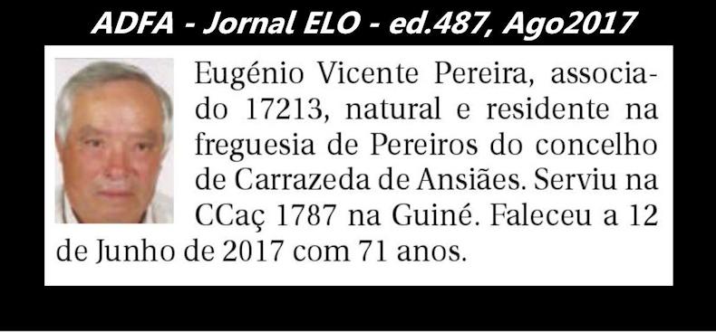 Notas de óbito publicadas no jornal «ELO», da ADFA, de Agosto de 2017 Eugeni11