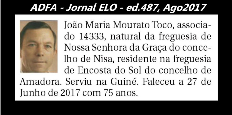 Notas de óbito publicadas no jornal «ELO», da ADFA, de Agosto de 2017 Joao_m11