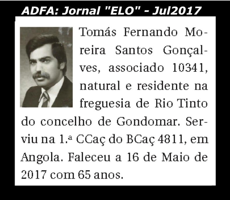 Notas de óbito publicadas no jornal «ELO», da ADFA, de Julho de 2017 Tomyys10