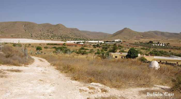 desert de Tabernas , que sont devenu les lieux de tournage Almeri13