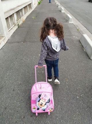 Cassandra sur le chemin de l'école : C'est une belle victoire au goût sucré ! Cassan11