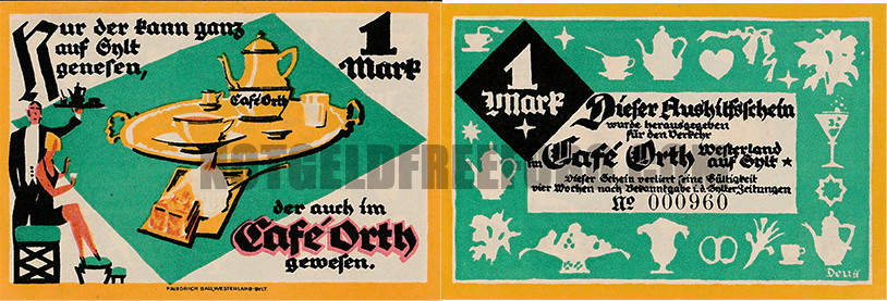 WesterlandLSylt (S-H) Cafe Orth 1mk10
