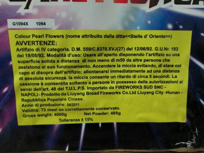 Art.G1094X Colour Pearl Flower 00310