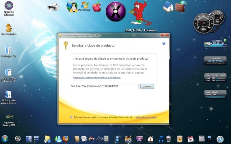 Microsoft Office Professional Plus 2010. [Español] Sin_ta10