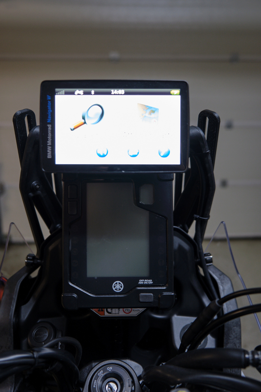 Support GPS - Ram-mount Dscf0113