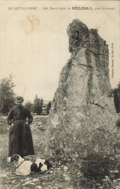 Le menhir de Bélinac (Lot) Menhir10