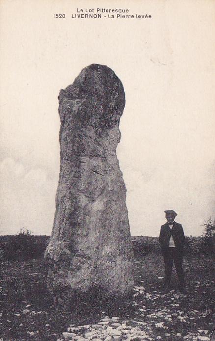 Le menhir de Bélinac (Lot) Menhir11