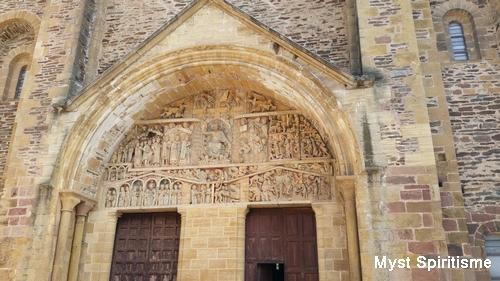 Conques [Aveyron] Tympan10