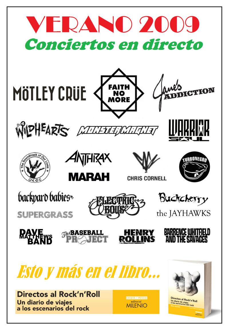 DIRECTOS AL ROCK'N'ROLL (Libro. Editorial Milenio) - Página 3 Verano10