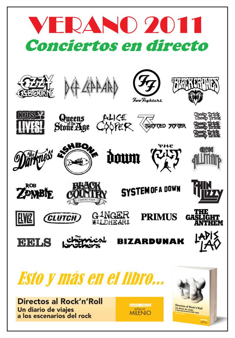 DIRECTOS AL ROCK'N'ROLL (Libro. Editorial Milenio) - Página 3 Verano12