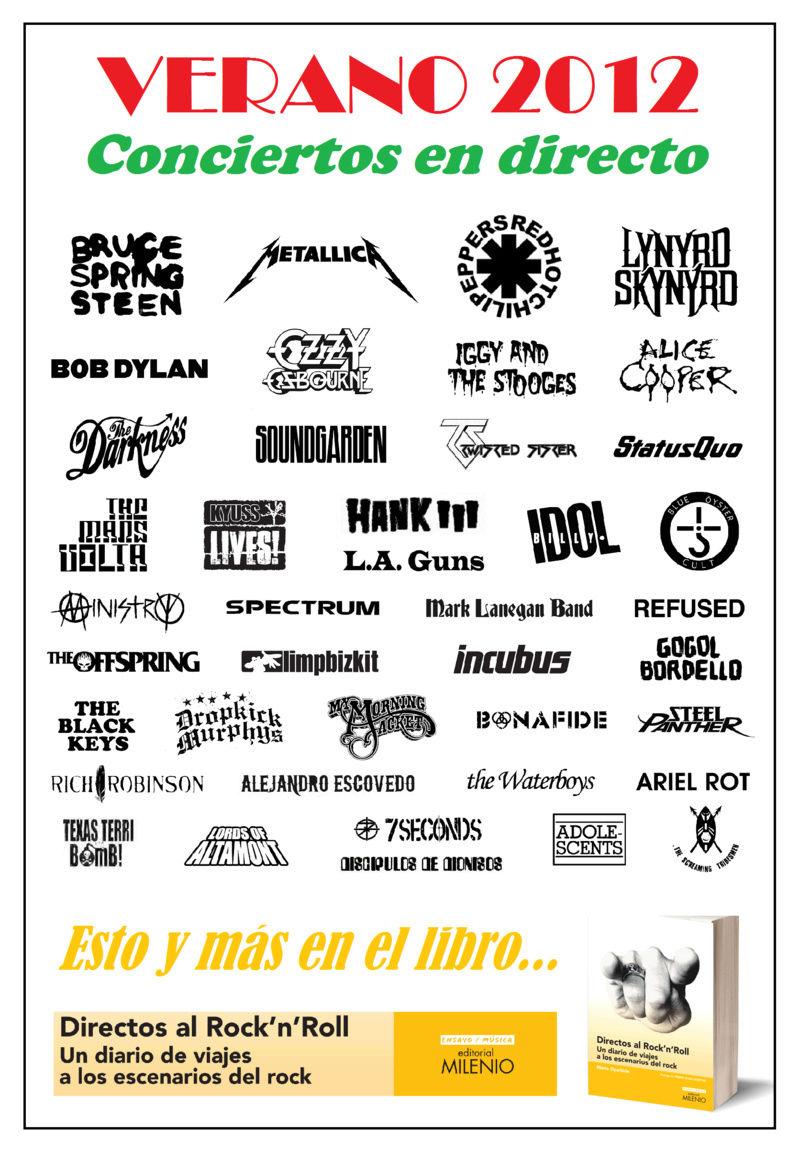 DIRECTOS AL ROCK'N'ROLL (Libro. Editorial Milenio) - Página 3 Verano14