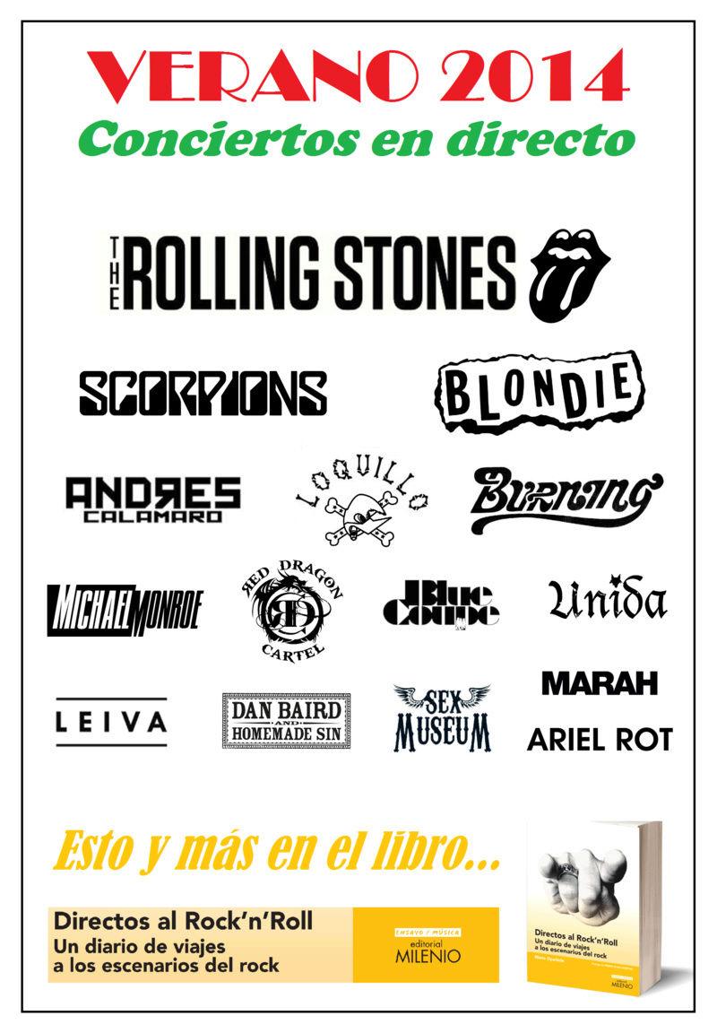 DIRECTOS AL ROCK'N'ROLL (Libro. Editorial Milenio) - Página 4 Verano15