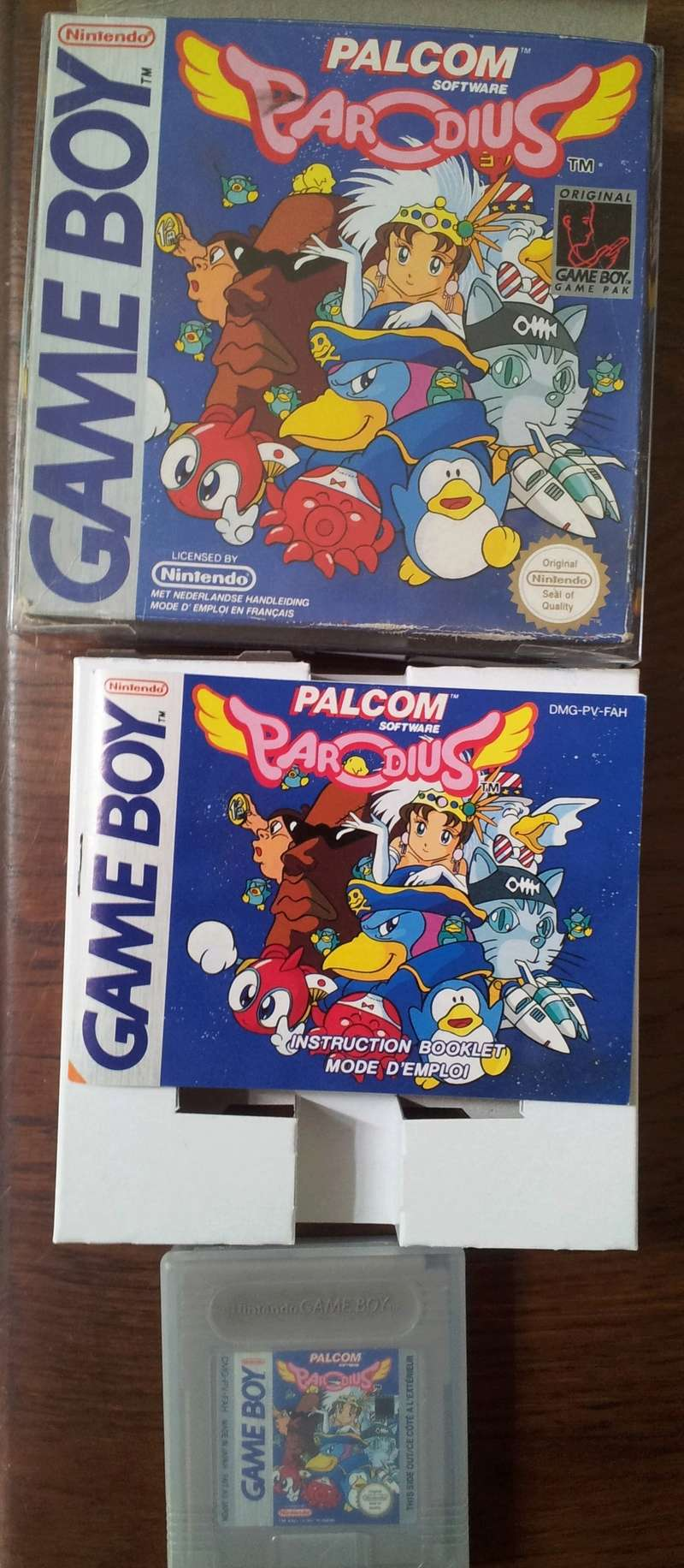 [Est] Parodius COMPLET Game Boy 20170710
