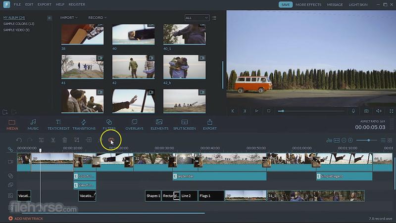 حمل برنامج المونتاج والمؤثرات والانترو Wondershare Filmora النسخة كاملة مع الكراك والسريال 2017 Filmor10