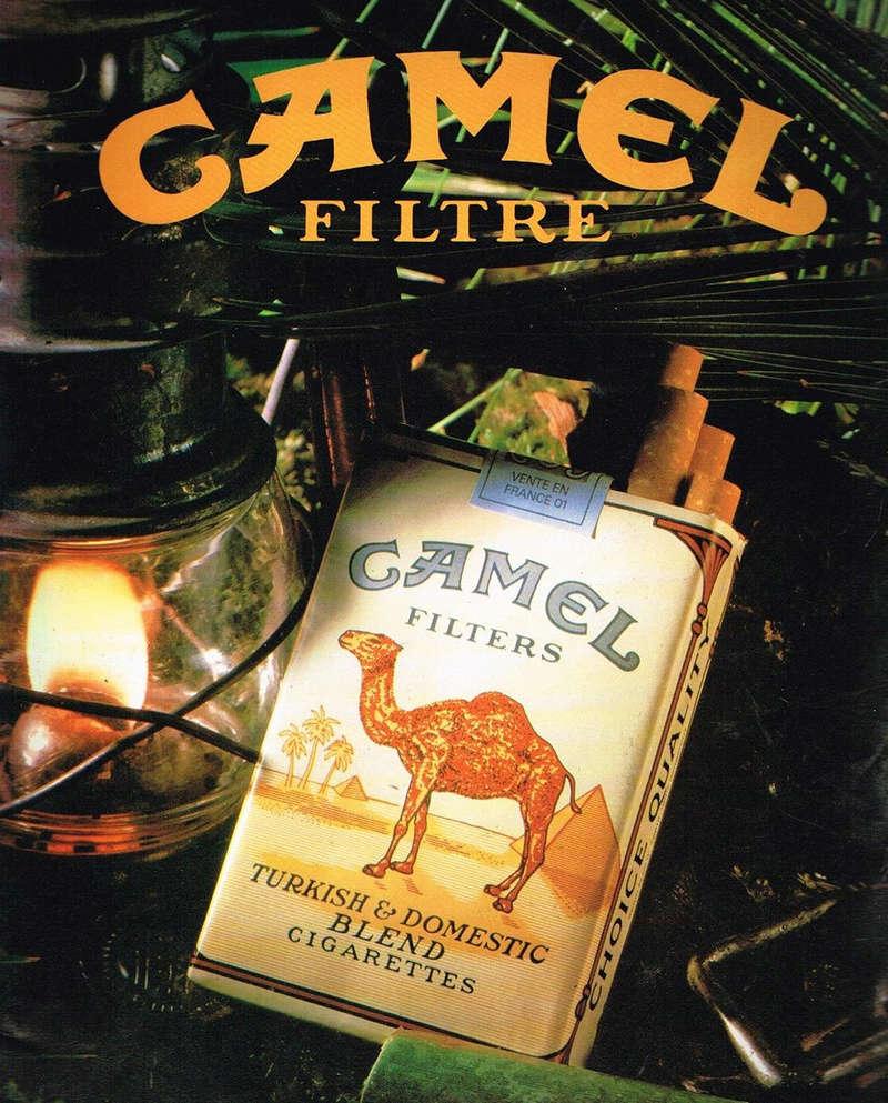 camel - Question ZIPPO Camel & vignette bleue Pub_1912