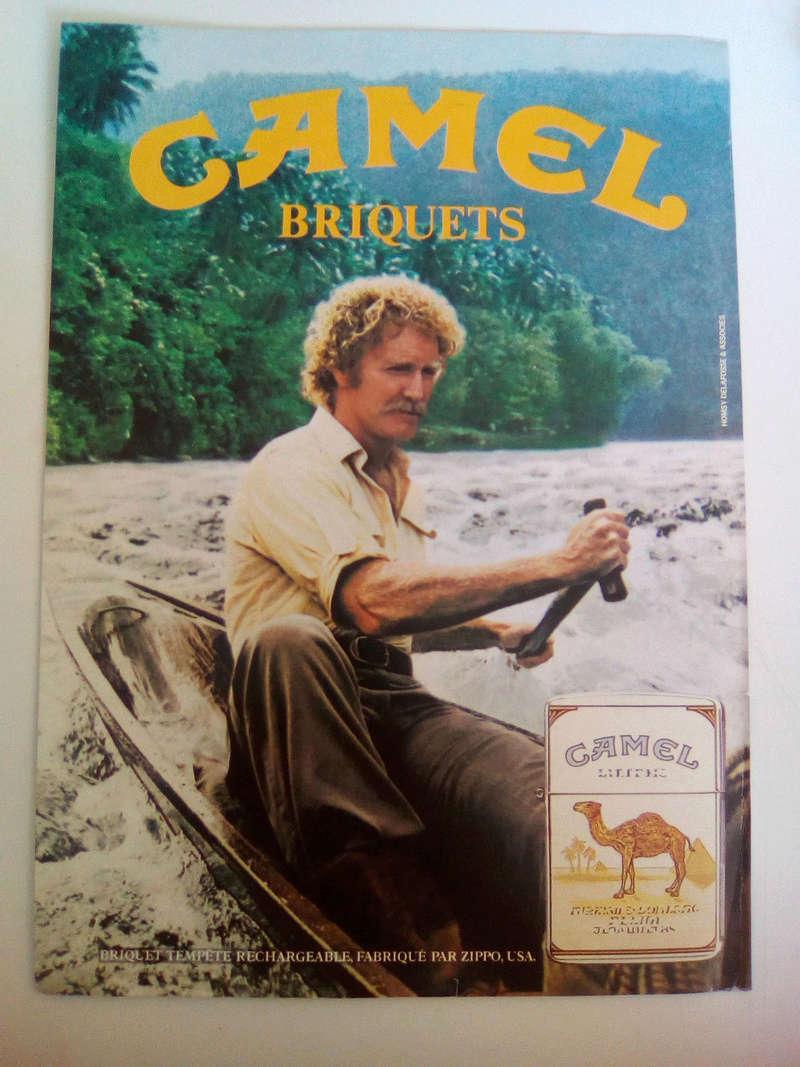 camel - Question ZIPPO Camel & vignette bleue Pub_ca10