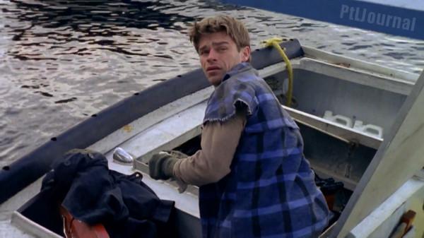 Майкла МакРиди на своей лодке