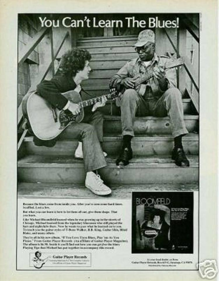 Mike Bloomfield - If You Love This Blues, Play Em As You... Poster11