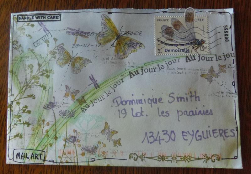 La ronde des mail art et art journal proposé par Chiara - Page 2 Imgp3422