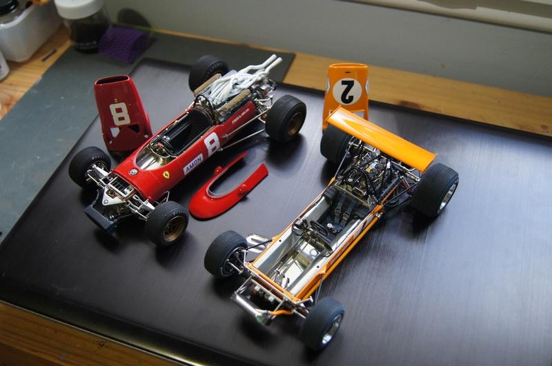 McLaren M7A 1968, Bruce McLaren. Model Factory Hiro, 1/20. - Page 3 Dsc02110